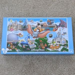 Disney Parks Panoramic Collectible 500Piece Puzzle